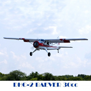 Avion DHC-2 BEAVER Hangar 9 - Env 2.80 m - 30cc essence