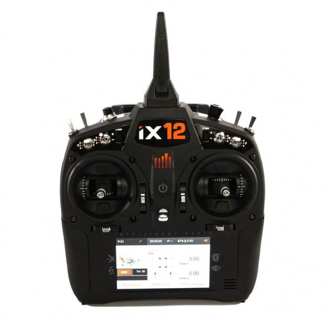 Radio SPEKTRUM iX12 12 voies - émetteur seul