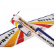 Avion F3A Supra Fly 60 (rouge-bleu) 1720mm