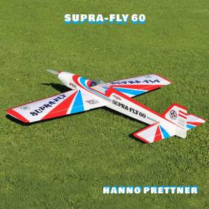 Avion F3A Supra Fly 60 (rouge-bleu) 1720mm