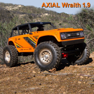 Crawler Axial 1/10 Wraith 1.9 4WD Brushed RTR Orange