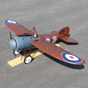 Avion monoplan Bristol M1C 1/4 ARF de SEAGULL