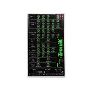 Carte de programmation E-PRG-3 pour variateur - Pro-Tronik
