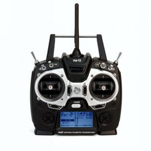 Radio MZ-12 HoTT Graupner avec récepteur GR-12L