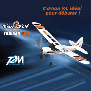 Avion Fun2Fly Trainer 500 de T2M