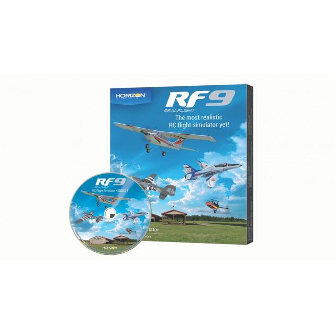 Simulateur de vol RealFlight RF9 avec contrôleur Spektrum
