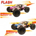Voiture Truggy Flash 1/10 RTR MHD3S de MHDPRO