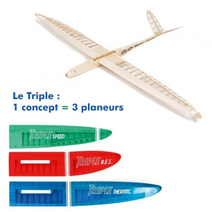 Planeurs Triple Speed, RES ou Thermic - AeroNaut