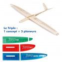 Planeurs Triple Speed, RES et Thermic de AeroNaut