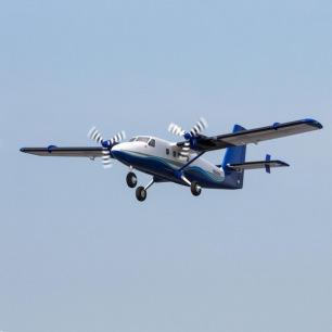 Avion bimoteur Twin Otter 1.2m BNF Basic d'E-Flite