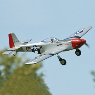 Avion MUSTANG P-51 D Sport Fighter ARF - GreatPlane - Env 1.32 m