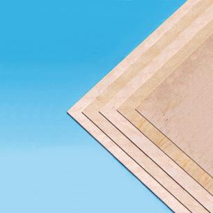 Planches de contreplaqué en bouleau - 500mm de long