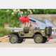 Jeep Willis 1941 1/6 MB Scaler ARTF kit