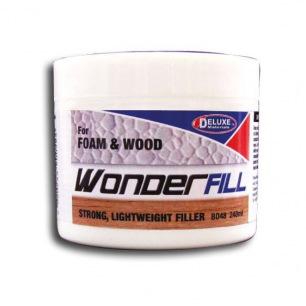 Mastic fin Wonderfill pour mousse et bois - Deluxe