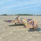 Avion P-40C Tomahawk 60cc ARF - Black Horse