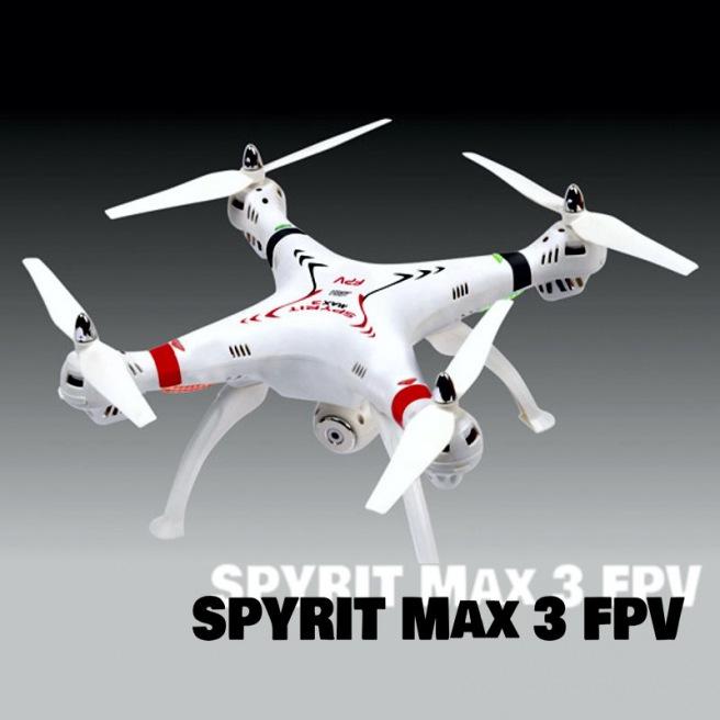 Drone spyrit Max 3 FPV de T2M