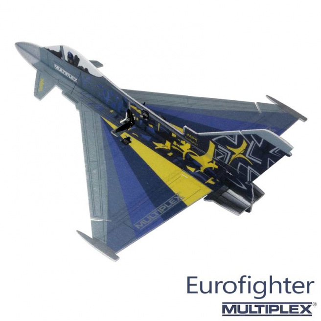 Kit jet Eurofighter Indoor Edition - Multiplex
