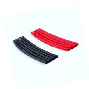 Gaine thermo rétractable Rouge & Noire - 2.4, 3.2,4.7, 6.4 et 9.5mm