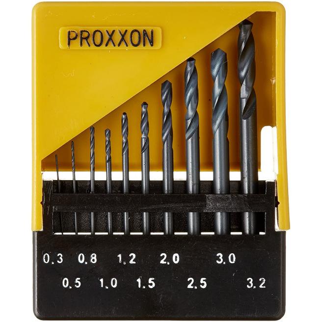 Jeu de forêts HSS en boîte de rangement - PROXXON