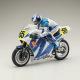 Moto Hanging on Racer Suzuki RGV 1992 kit de Kyosho