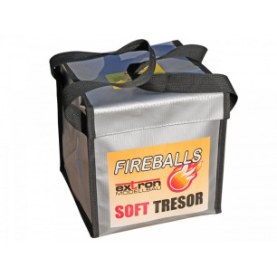 Sac Lipo Fireballs soft safe - Extron