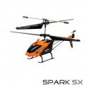 Hélicoptère Spark SX orange de T2M
