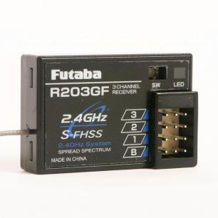 Récepteur Futaba R203GF 2.4 GHZ S-FHSS/FHSS