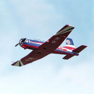 Avion Cj6 V2 kit PNP 1200mm avec système Reflex de FMS