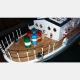 Bateau Cargo Italien AIACE 1/40 de Mantua Model