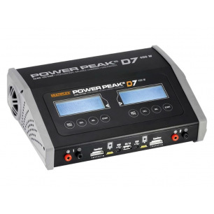 Chargeur Power Peak D7 EQ-BID -12V/230V - Double sorties 2x200W