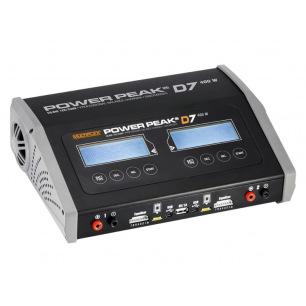 Chargeur Power Peak D7 EQ-BID -12V/230V - Double sorties 2x200W