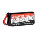 Batteries LiPo Sigma 45C de 2 à 6S