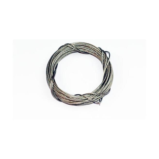 Câble en acier inox tressé 0.7mm de A2PRO - Longeur 5 mètres
