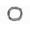 Câble en acier inox tressé 0.7mm de A2PRO - Longueur 5m