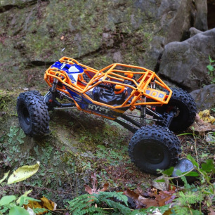 Rock Bouncer RBX10 Ryft 1/10 4WD Brushless RTR Axial Orange