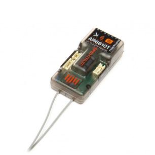 Récepteur Spektrum AR6610T DSMX télémétrie 6 Voies