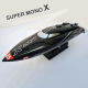 Combo bateau Super Mono X V2 Brushless RTR de Joysway Hobby