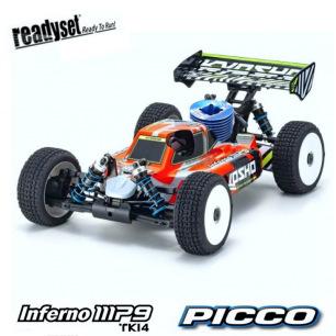 Inferno MP9 TK14 Readyset avec PICCO.28 Pullstart - KT331P Kyosho
