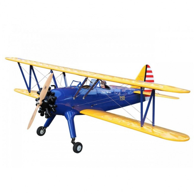 Avion PT 17 Stearman ARF de Pichler