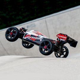 Buggy PYTHON XP EP 1/8 2021 RTR Brushless Power 6S de Team Corally