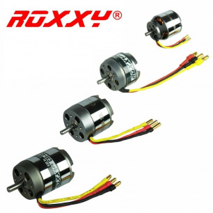 Moteurs Brushless ROXXY - diamètre 28 à 63 mm - LiPo 2 à 12S