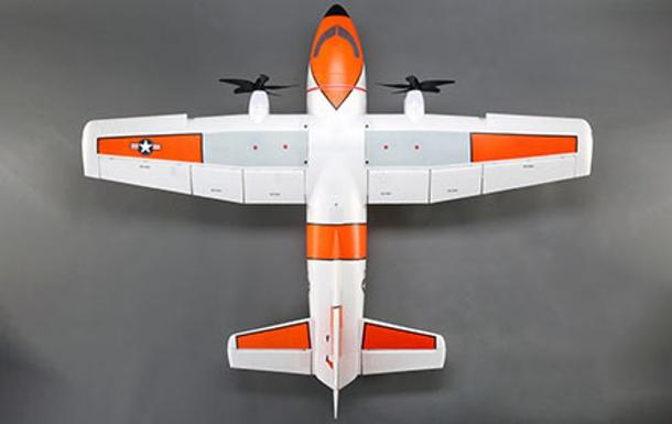 EC-1500 Twin 1-5m PNP dE-Flite_ volets f