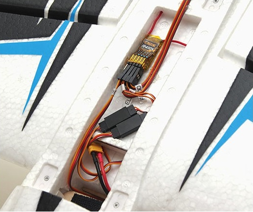 Edge 540 PNP kit free reflex system de F