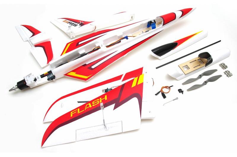 Flash 850mm PNP kit w free reflex system