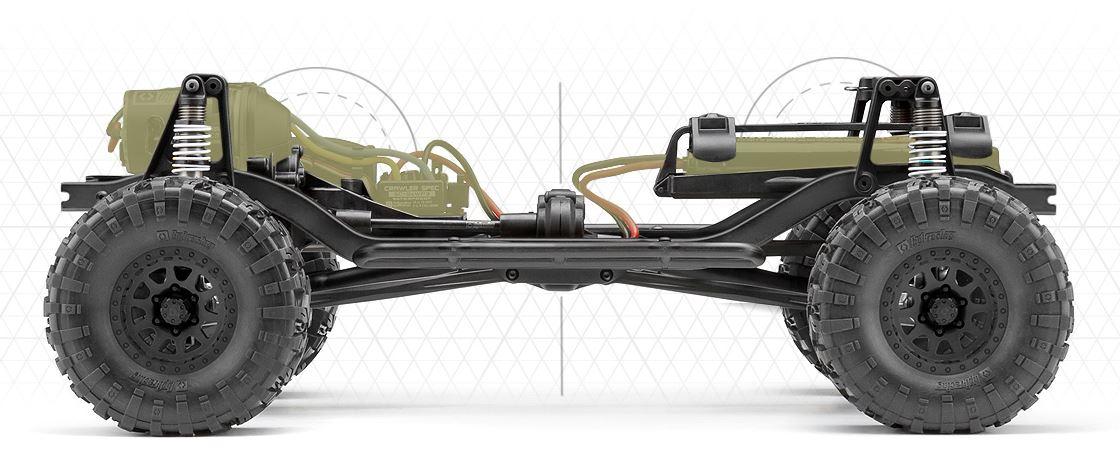 crawler venture toyota fj de hpi voiture radiocommand e r models. Black Bedroom Furniture Sets. Home Design Ideas