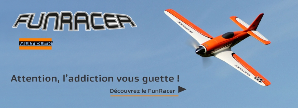 Avion FunRacer de Multiplex