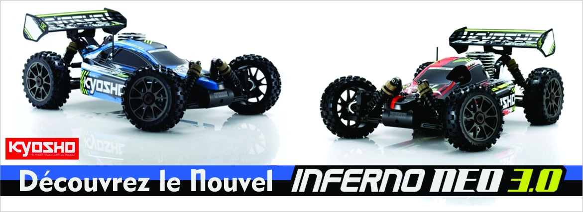 Nouvelle voiture rc Inferno Neo 3.0